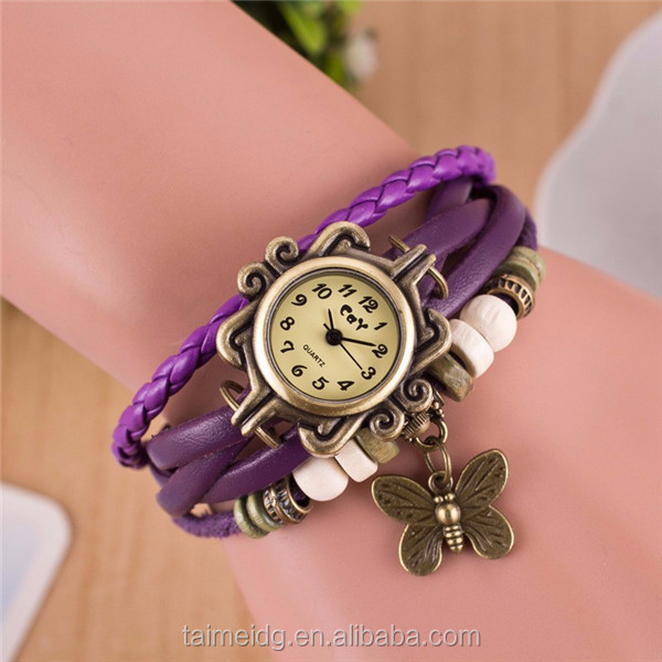 Made from china fancy lady watches for wholesale
