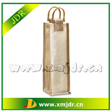 Hot Sale Cheap Recycled Jute Wine Bottle Bags