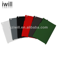 2013 hot selling dull polish surfacse PC back case for tablet iPad 4