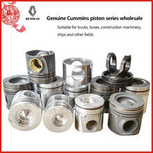 All Series Genuine Piston supplier for 4bt 6bt 6ct ISBe ISF ISDe NT855 diesel engine piston wholesale