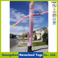 NEVERLAND TOYS Customized Advertising Logo Design Inflatable Air Dancer Inflatable Sky Dancer for Commercial and Advertising