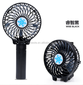 Promotion In Summer Foldable Air Cooler Without Water Battery Operated mini Hand Fan
