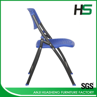 Cheap plastic triangle folding chair for sale