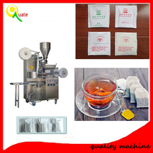 automatic tea bag packing machine with thread and tag/herb tea bag packing machine/filter bag tea packing machine