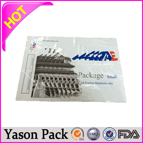 Yasonpack plastic silver envelope plain white envelopes recycled envelope