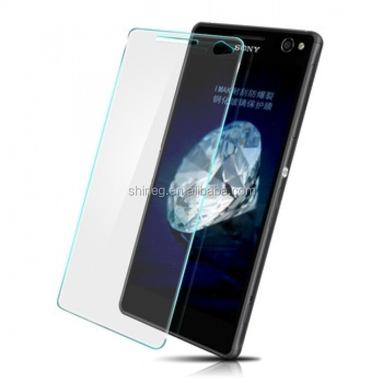 Newest Factory Price <strong>Mobile</strong> 0.2mm/0.3mm Tempered Glass Screen S <strong>o</strong> n y C4
