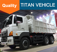 Good Quality 20 T 40 T HINO Dump Truck for Sale