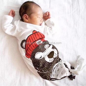 100% Nature Organic Cotton Infant & Toddlers Clothing Baby Sleeping Bag For Outdoor and Indoor