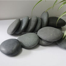 Natural SPA Volcanic Hand-polished Stone Massage shiatsu infrared massage cushion
