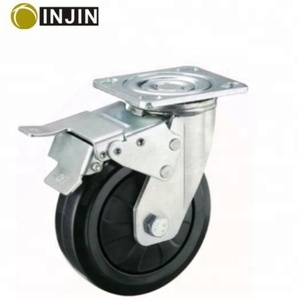 5 inch wheel barrow solid rubber tire