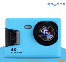 New V10 wifi action camera with 2.4G remote control 4K 24fps 24MP photos resolution V10 action camera with watch