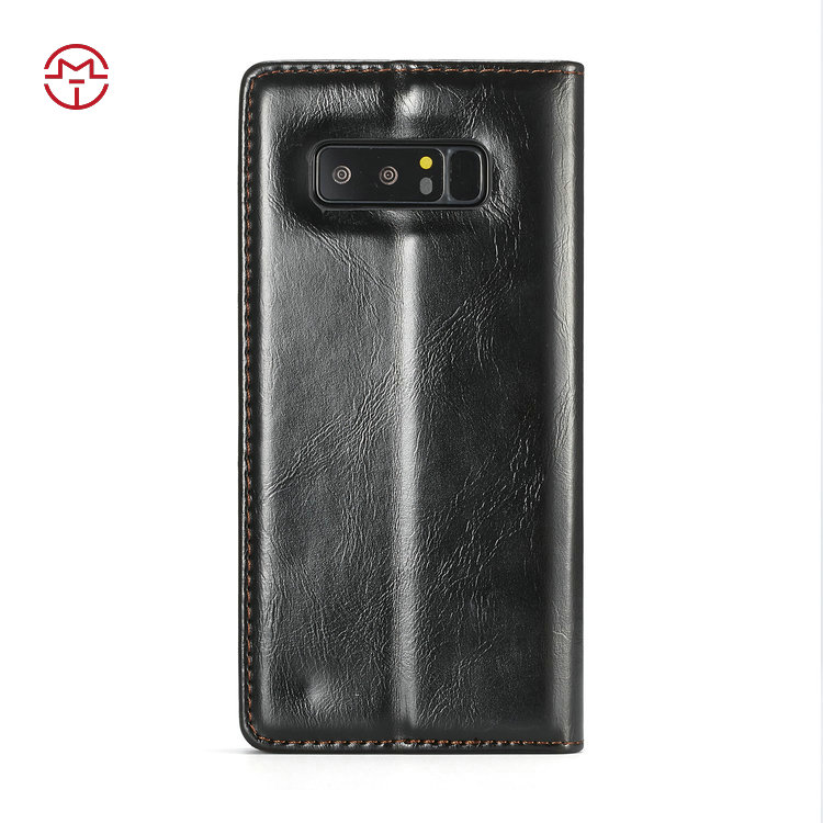 For Samsung Galaxy Note 8 Case Leather Wallet Case, Flip Leather Mobile Phone Cover For Samsung Galaxy Note 8 Case
