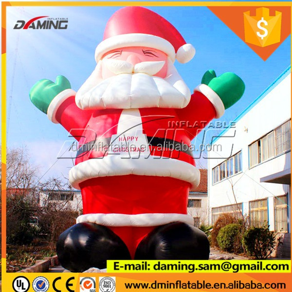 Best selling newest outdoor 20 ft inflatable santa christmas inflatable