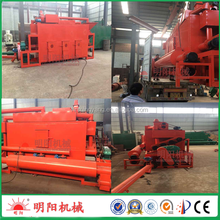 150-180kg/h 7.55kw wood powder continuous carbonization kiln furnace with gas recycle 008615039052281