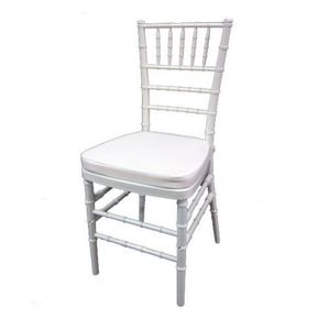 China wedding chairs stacking chiavari tiffany white event beech wooden chair wholesale with cushion
