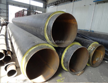 ASTM A179-1990 large diameter thermal insulation carbon spiral steel pipe on sale