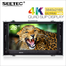 "SEETEC 28"" 4K Ultra-HD Resolution Carry-on Broadcast Director Monitor for CCTV Monitoring & Making Movies 4K280-9HSD-CO"