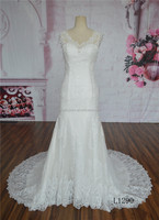 China custom made mermaid plus size wedding dress of bride