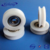 Nylon small roller Pulley Wheels With Bearings for Drawer or Sliding Folding Door