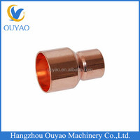 Red Copper Reducing Couplings for Refrigeration Air Conditioner, Mould Manufacturing