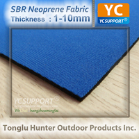 Dual Sides Laminated Neoprene Fabric For