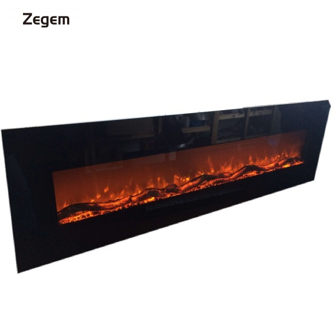 72 inch 220v-240v decorative modern electric fireplace wall heater