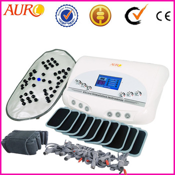 Au-6804B EMS Body Slimming machine Transcutaneous Electrical Nerve Stimulator machine with Infrared detox