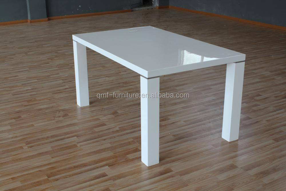 individual looking for white wooden kitchen table