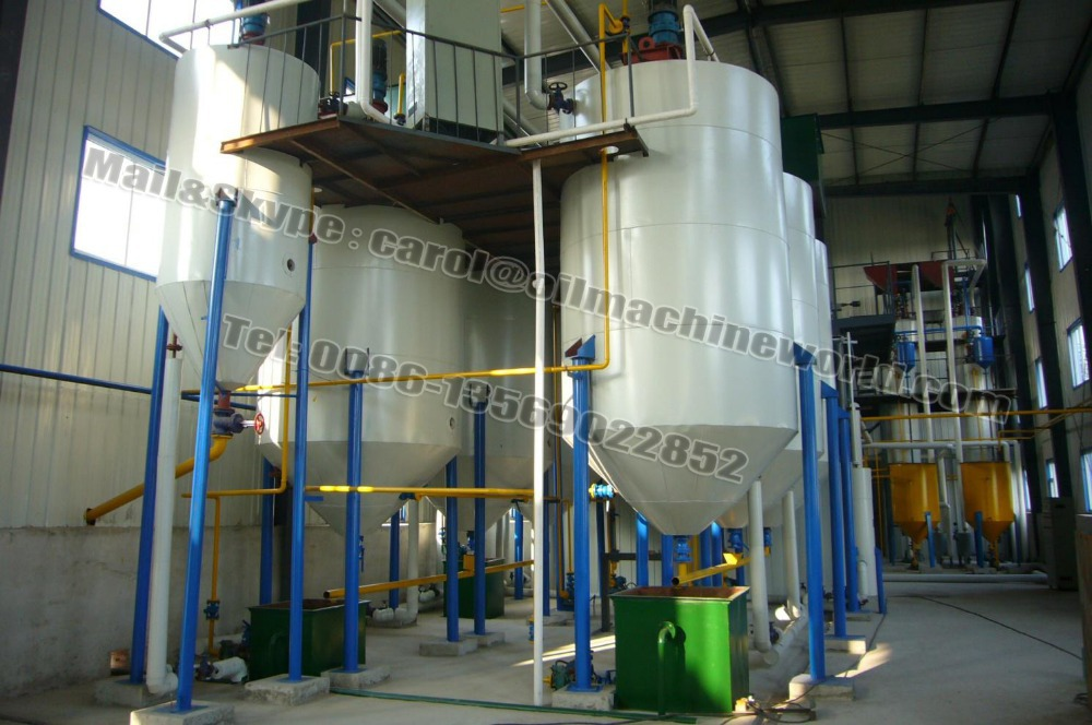 5t/d black oil refining machinery