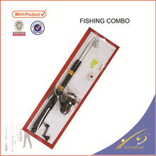 FDSF2106 CARBON FLY FISHING ROD AND FLY FISHING REEL COMBO WITH KITS