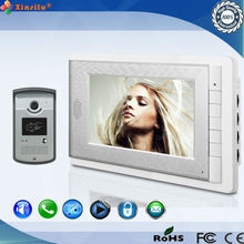 Xinsilu wired 7inch video Door Phone Audio Visual Intercom Entry System Home Security 1 camera 1 Monitor