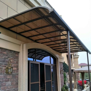 Aluminum terrace canopy decorative window awning shed