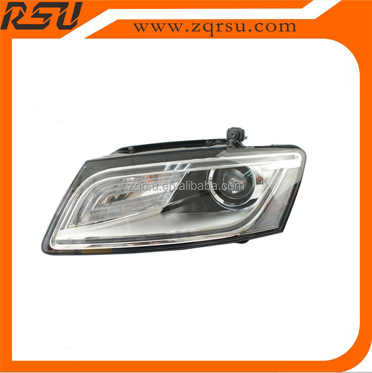 For audi Q5 HEAD LAMP Hid Xenon LED HeadLights 2013-2015