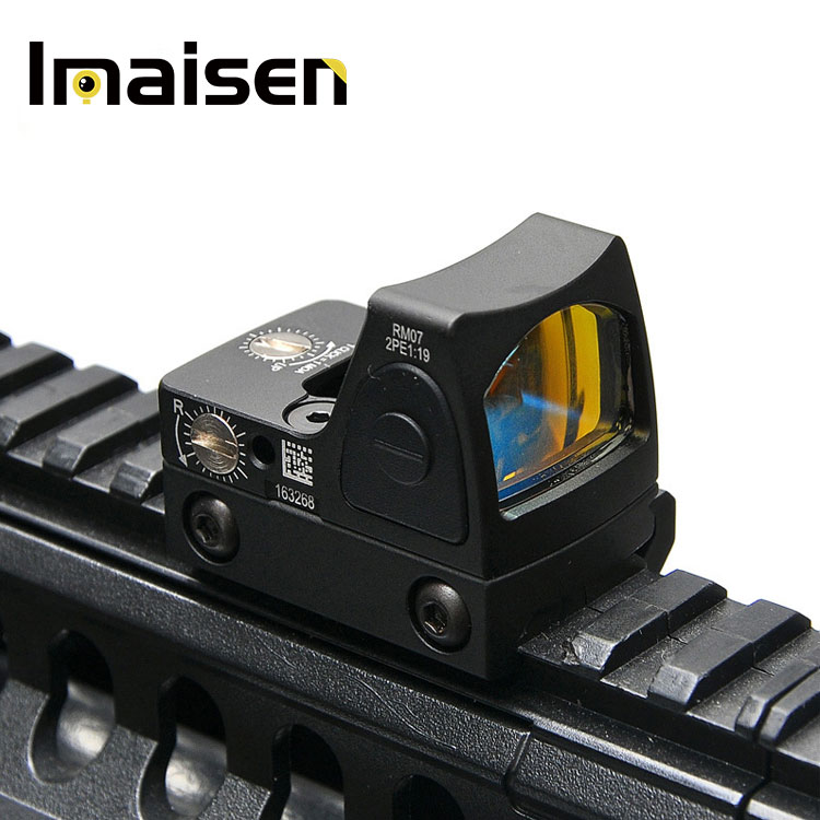 Mini RMR Red Dot Sight Collimator Sight Scope fit 20mm Weaver Rail For Airsoft / Hunting Rifle