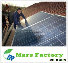 Mars Power micro home use 2kw solar panel system how solar energy works