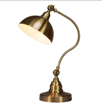 E27 vintage bronze table lamp good finished table lamp for hotel/department project