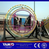 (Yamoo)Popular amusement ride 3D space ring ride/theme park human gyroscope for sale!