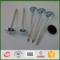 China galvanized umbrella head roofing nails factory price