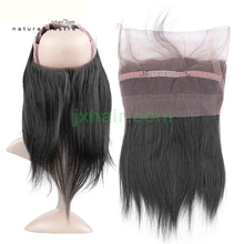 Full lace front top pieces 360/ virgin remy human hair 30-50cm