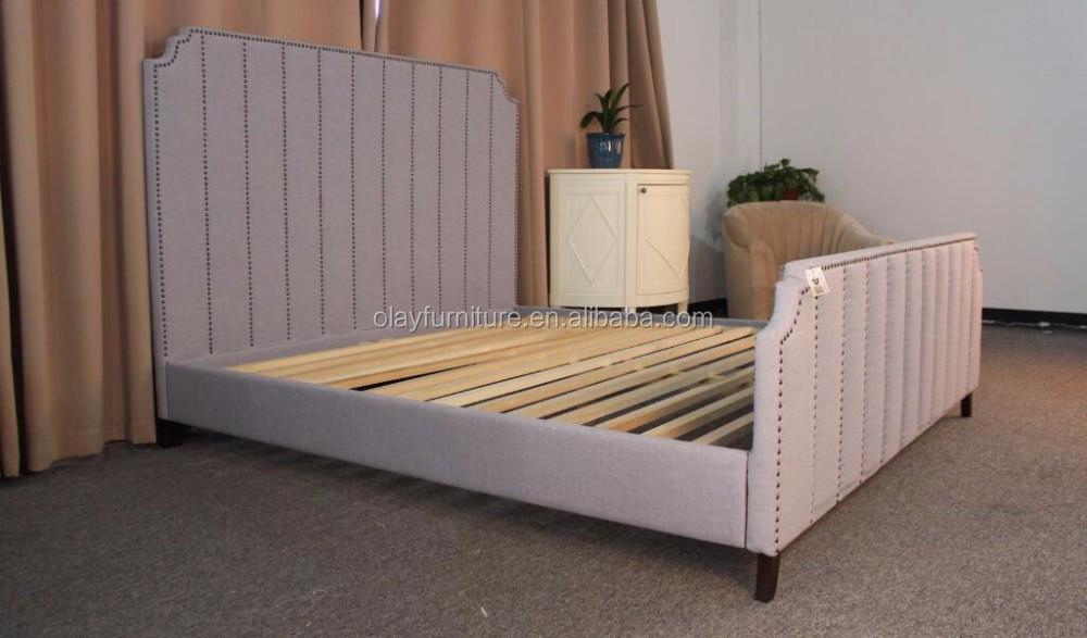 Americano tamaño tipo muebles de diseño cama doble Hotel Casa camas ...