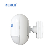 Wireless microwave PIR Sensor home alarm system LOW-BATTERY PROMPT & detecting interval adjustable(KR-P829)