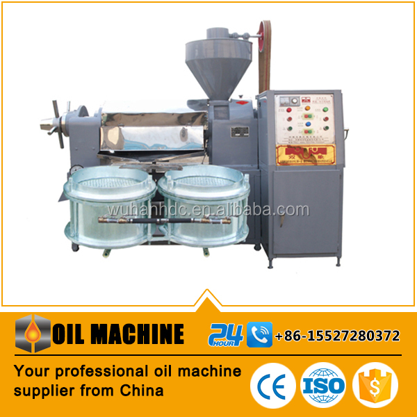 Automatic screw oil press machine coconut oil processing plant copra oil extraction press