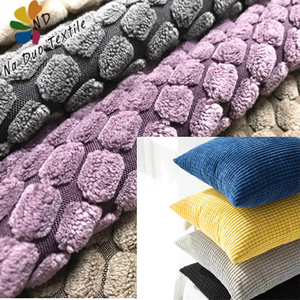 High Quality Hometextile Cushion Fabric Wholesale Furniture Upholstery Corduroy Fabric