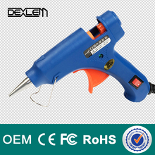 High quality 20W HL-E20W hot melt silicone glue gun with copper nozzle