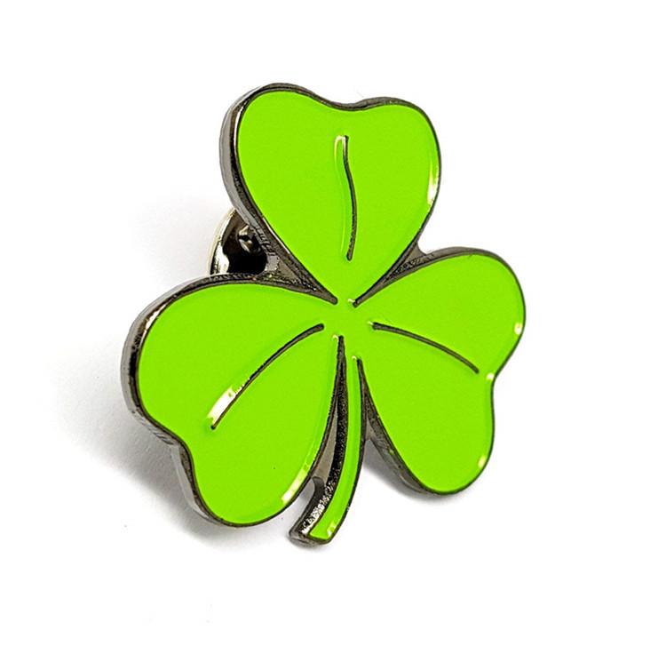 Shamrock Ireland Lapel Pin