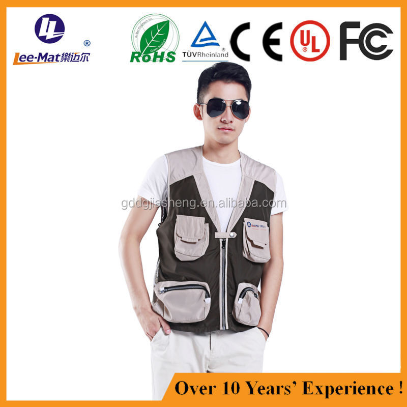 Wholesale air conditioned jacket summer cooling jacket air cool jacket