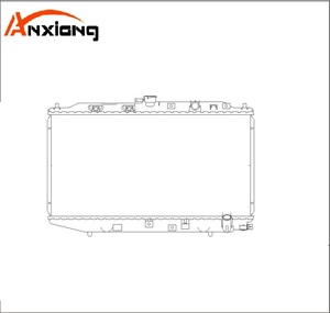 Car radiator OEM:19010-PM4-003/004 325*668*16/26 MT DPI:1943 NISSENS 62256 Auto radiator