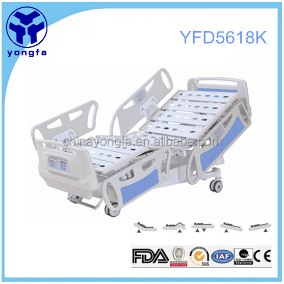 YFD5618K five function icu electronic hospital bed