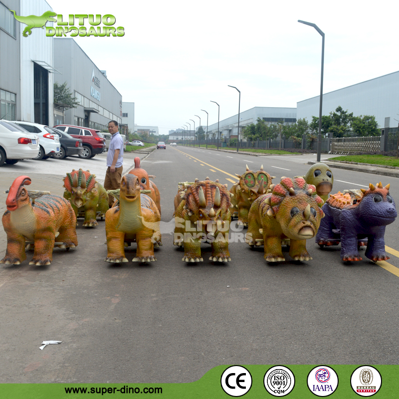 Shopping Center Walking Dinosaur Kid Ride