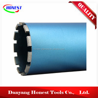 Silver Brazed Diamond Core Drill Bit(for masonry,bricks,concrete blocks,reinforced concrete)